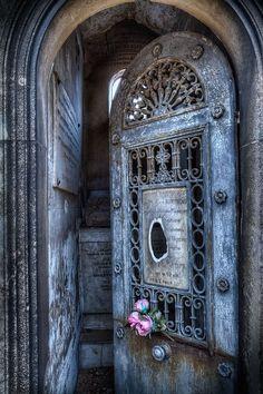 How romantic is this door?