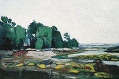 Low Tide Maine by Alexey Krasnovsky