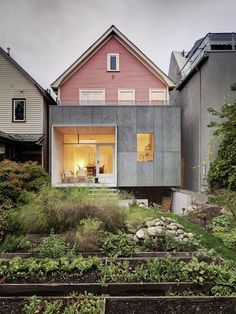 William Street House. Location: Vancouver, British Columbia, Canada; firm: Campos Leckie Studio.