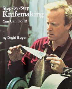 knife making - one of my favorite books Cool Knives, Knives And Swords, Survival Knife, Survival Skills, Blacksmithing Knives, Forging Knives, Knife Making Tools, Diy Knife, Blacksmith Forge