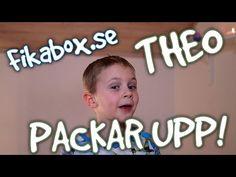 Theo packar upp Fikabox.se - Avsnitt 2 - Nu med provsmakning! - YouTube