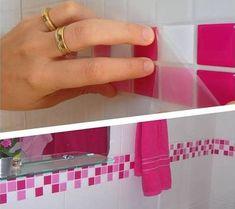 revestimento para banheiro pastilha aplicacao