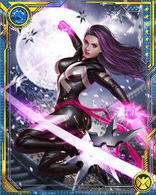 Psylocke (disambiguation) - Marvel: War of Heroes Wiki - Wikia Misty Knight, Comic Art, Comic Books, Heroes Wiki, Heroes For Hire, Marvel Cards, Moon Knight, Psylocke, Martial Artist