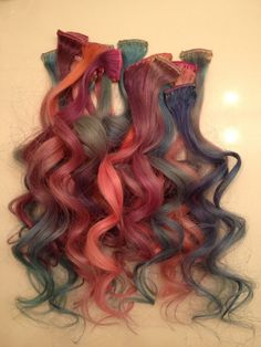 The Shop Therapist: DIY: Pastel extensions (aka My Little Pony hair)
