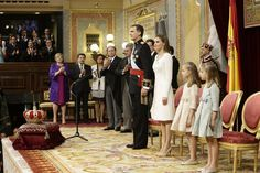 Proclamación como Rey de Felipe VI