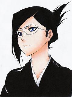 Nanao Ise (伊勢 七緒, Ise Nanao) is the co-lieutenant of the First Division of the Gotei under Captain Shunsui Kyōraku, and Vice-President of the Shinigami Women's Association. Ukitake Bleach, Kuchiki Rukia, Bleach Fanart, Bleach Manga, Shinigami, Bleach Characters, Anime Characters, Iron Maiden, Character Concept