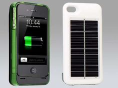 Solar charger smartphone cover