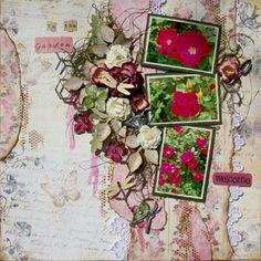 In the garden ~Scraps of Elegance~ - Scrapbook.com