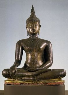 Brooklyn Museum: Asian Art: Seated Buddha cc non $.  Copyright © 2004–2011 the Brooklyn Museum. Some rights reserved. Non-commercial use of text and images in which Brooklyn Museum holds the copyright is permitted, with attribution, under the terms and conditions of a Creative Commons License.
