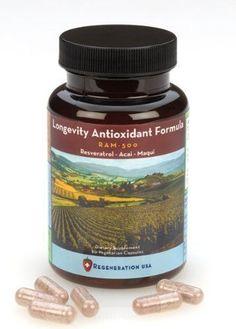Resveratrol, Acai & Maqui Berry Longevity Antioxidant Weight Loss Anti-Aging