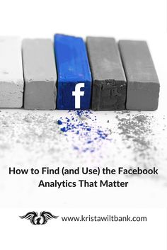 Some Facebook metrics are important to track in marketing. Some aren't. Learn about the Facebook analytics that matter and how to find them.