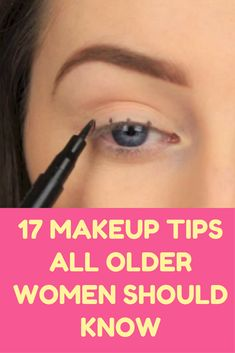 1d03c80e7c3 17 Makeup Tips All Older Women Should Know About (Slideshow) Beauty Hacks,  Beauty