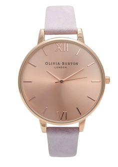 Olivia Burton Big Dial Watch - Rose Gold