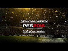 PES 2016  Barcelona x Alemanha [ Jogo online ]