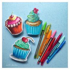 Cupcakes - Isabelle Kessedjian