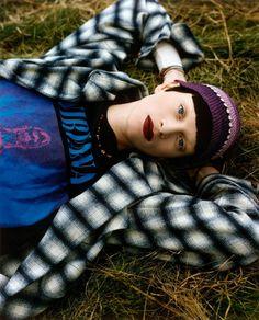 Editorial fotografado por Steven Meisel - Vogue americana (1992) -  Grunge & Glory