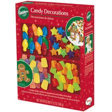 Holiday Candies for Gingerbread Houses by Wilton