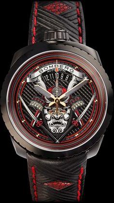 Bomberg Bolt  68 Samurai  武士系列腕錶