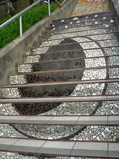San Francisco - Mosaic Stairs to Grand View Park by Marc_Smith