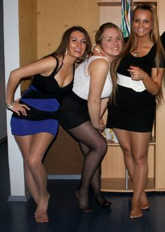 girls feet 6 amateur tights group