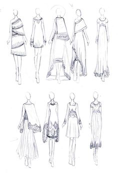 Fashion Design Sketches 389913280214255585 - Sari Inspired Dresses Source by Dress Design Drawing, Dress Design Sketches, Fashion Design Sketchbook, Fashion Design Drawings, Art Sketches, Fashion Drawing Tutorial, Fashion Figure Drawing, Fashion Drawing Dresses, Fashion Illustration Dresses