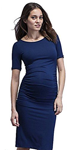 MTRNTY Womens Maternity Elegant Night Dress 1012 Blue Medium >>> Read more reviews of the product by visiting the link on the image.Note:It is affiliate link to Amazon.