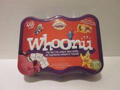 Whoonu Cranium 400 Card Tin Game Favorite Things Party Missing 1 Red Token #cranium