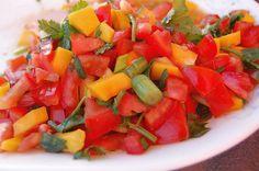 Tomato Mango Salsa from @Abu mnsar Saad Renegade