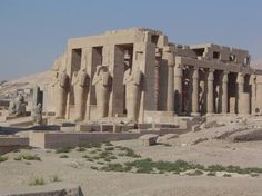 ramesseum tapınağı