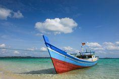 Anchored Boat, Belitung | by syukaery