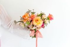 Bridal Posey Bouquet - Adore Weddings Flower Vases, Colorful Flowers, Bouquets, Romantic, Seasons, Weddings, Bridal, Create, Floral