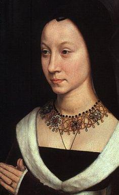 Gioielli medievali~ Maria Portinari 1470 ~ By Hans Memling ~ Metropolitan Museum of Art