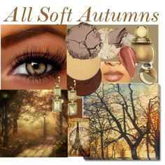 Eye Color Inspirations-Soft Autumns by prettyyourworld on Polyvore featuring Kunst