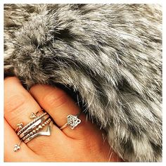 f7f81ecabc6 Instagram post by gms silver jewellery • Apr 6, 2016 at 11:55am UTC. Grey  Speckled Fur Jacket ...