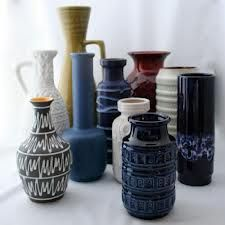 west german pottery blue - Google Search