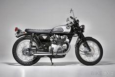 1968 Honda CB450 K1, tastefully restored and lightly customized by Ellaspede of Brisbane, Australia.