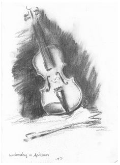 147 violin drawing in charcoal Violin Drawing, Object Drawing, Painting & Drawing, Tree Sketches, Colourful Art, Charcoal Drawing, Graphite, Art Boards, Journaling