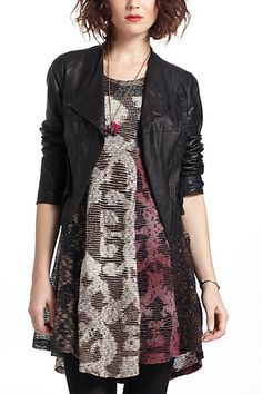 Leather Moto Jacket #anthropologie possibly this one..