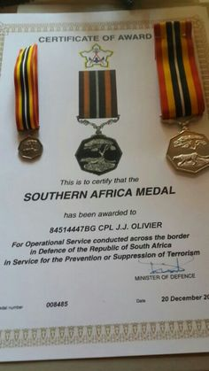 Paper, metal and cloth is what they give a veteran if you survived, this can get lost or be destroyed but the scars on your sole will last until you die. Military Special Forces, Brothers In Arms, Defence Force, Insurgent, Iron Fist, African History, The Republic, Troops, South Africa