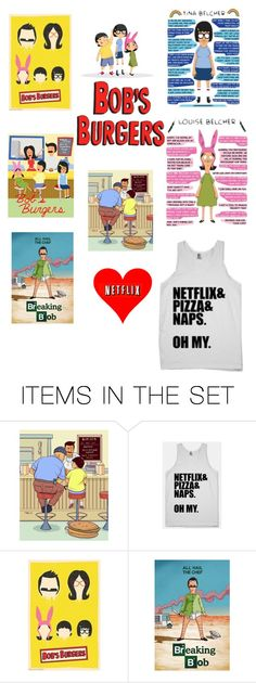 """My love for bobs burgers is insane ?"" by mlott12 ❤ liked on Polyvore featuring art"