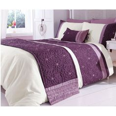 Mauve quilted bed runner.  http://www.worldstores.co.uk/p/Catherine_Lansfield_Lois_Mauve_Bed_Runner.htm