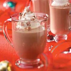 Mocha Eggnog Recipe from Taste of Home -- shared by Beth Ann Hill of Dayton, Ohio