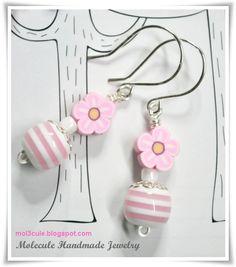 Lampwork Ohrringe von Molecule Handmade Jewelry My True Love, Bling Bling, Beading, Handmade Jewelry, Pearls, Glass Beads, Ear Piercings, Schmuck, Beads