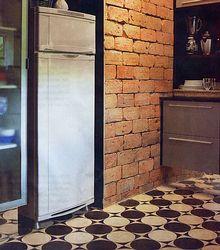Decor * Decoração * Home * Casa * Ideas * Idéais * Inspiração * Inspiration * Reforma * Design * Kitchen * Cozinha * Hydraulic Tiles * Ladrilhos Hidráulicos * Bricks Wall *