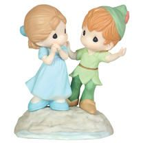 Peter and Wendy Precious Moments style :) So cute!