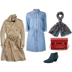 """blue booties"" by noanyedges on Polyvore"