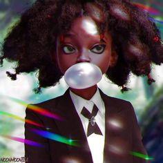 "jasisababe:"" noonmoontea:"" Canary from Hunter x Hunter(Hisoka's Bungee Gum)""Yes"" Killua, Alluka Zoldyck, Hisoka, Hunter X Hunter, Hunter Anime, Manga Anime, Fanarts Anime, Anime Art, Manga Art"