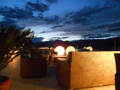 Rooftop Bar Hotel La Palma Stressa