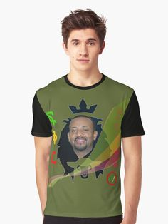 """""""Prime Minster Abiy Ahmed"""" T-shirt by Abelfashion   Redbubble"""