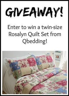 Giveaway! Quilt Set from @Qbedding